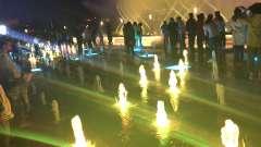 大同南城墙大型音乐喷泉