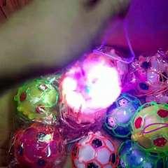 君晓天云电动发光花瓣球跳跳球会跳舞音乐足球