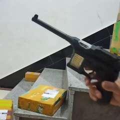 发光玩具手枪仿真驳壳枪儿童电动冲锋枪王八盒