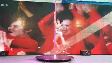 邹文舞蹈全国连锁东门商业演出 唯美大气钢管舞