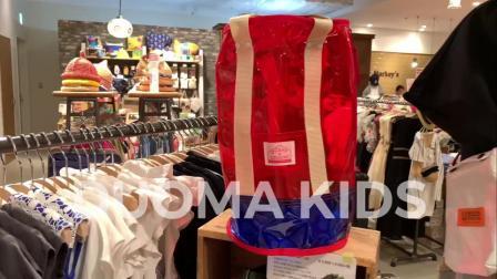 君晓天云部分现货 日 本土 小众牌子彩色夏日时髦透明沙滩包游泳包 桶包