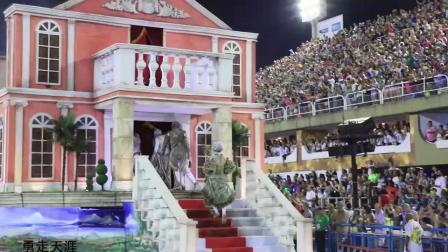 巴西狂欢节桑巴舞大赛表演