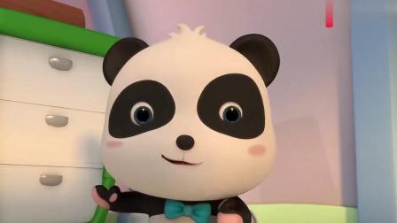 道哥请小熊猫他们来家里吃西餐,小熊猫他们不会用餐具,糗事好多