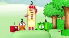 数字方块 搞笑动画:数字们在计划什么 好像是件
