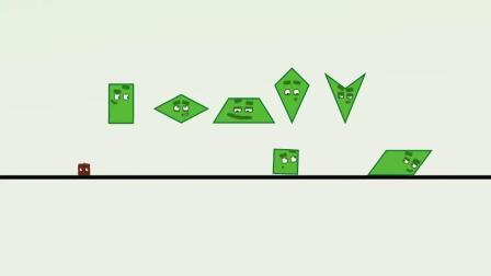 数字方块 搞笑动画:明星梦成真 三兄弟马上就要