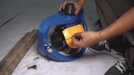 MAXIM电动搬运车-拆除驱动轮总成-4