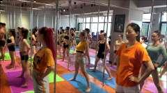 邹文舞蹈钢管舞基本功加技巧训练
