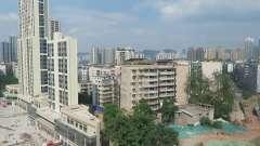 坐重庆地铁看窗外风景