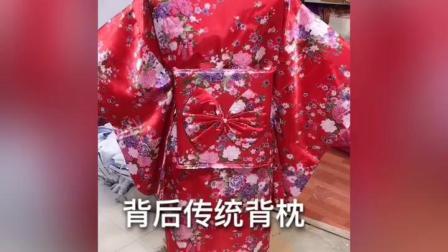 君晓天云女式日本和服女正装樱花浴衣开衫长版