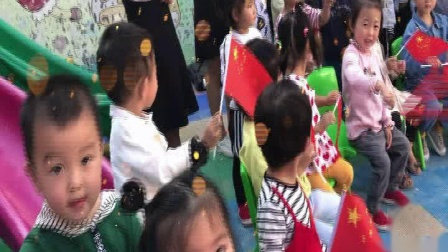 叶县金太阳幼儿园庆祖国70华诞 我和我的祖国 主题快闪视频