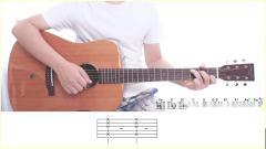 《Lemon》迷津玄师-吉他弹唱演示-吉他教学-大树音