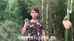 乡村搞笑视频:小伙偷石榴不料被发现,结果太