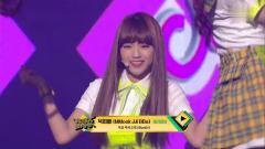 韩国靓女团SATURDAY - MMook JJi Bba - KBS音乐银行