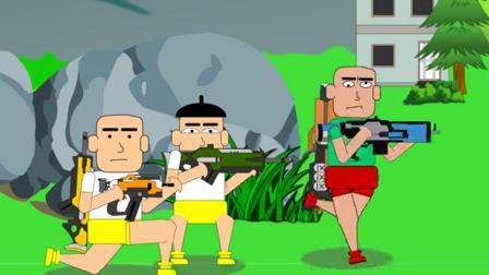 吃鸡搞笑动画:好心救人反被打,八倍镜的狙击枪打人真爽
