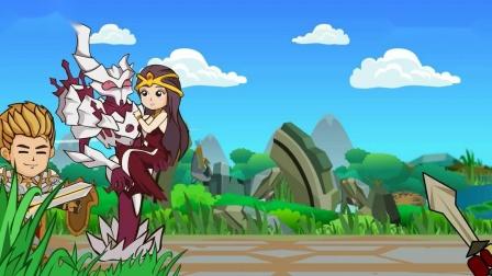 「王者好气啊」搞笑动画23:我真是太难了呀,当