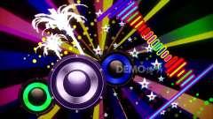 视频元素 动态视频 c202卡通动感音乐音符跳动六
