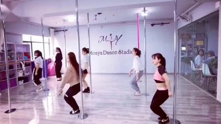 专业钢管舞教练培训 钢管舞舞蹈教学 成都钢管舞