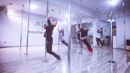 抒情风钢管舞 现代钢管舞舞蹈 成人钢管舞教学