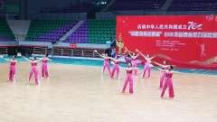"""""""中国体育彩票杯""""2019年山西省柔力球比赛晋"""