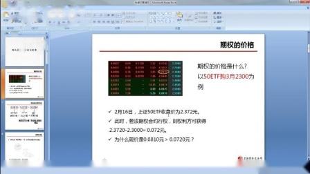 50etf期权波动率、量化指标讲解(1)