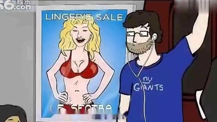搞笑动画短片《地铁狂想》