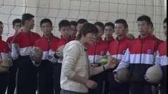 排球:正面上手发球-高中体育优质课(2019)