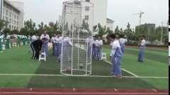 排球正面双手传球(一等奖)-高中体育优质课(