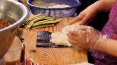 海藻卷**40年职业生涯 韩国街头美食
