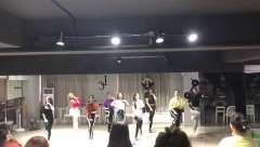 合肥舞蹈年会排舞 立晨成人培训爵士舞 钢管舞