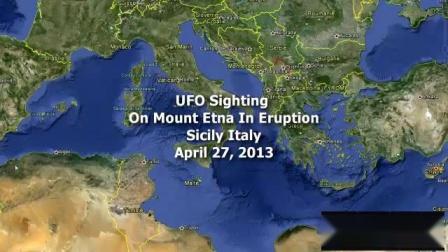 UFO目击&&意大利埃特纳火山附近出现UFO!