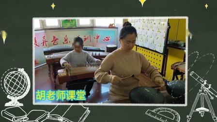 凌异音乐工作室 卢禹希同学娘俩合奏 古筝,空灵