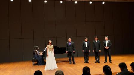 国家大剧院驻院歌剧演员音乐会返场《饮酒歌》