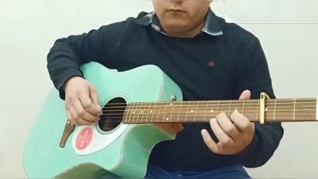 民谣吉他还能这么弹,太好听了,鼎音吉他学校