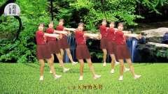 热门草原金曲《又见山里红》,美女DJ版,舞姿活