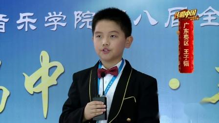 传唱中国 中国音乐学院第八届考级大赛--王子韬
