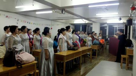 万科志愿者合唱团参加琴台音乐节合集