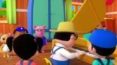 动画片,万圣节之夜_鬼卡通为儿童_儿童歌曲和音