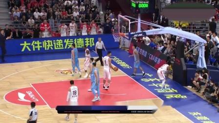 王者体育直播 - C*A榜首大战广东1分险胜送新疆赛季首败 阿联23+14