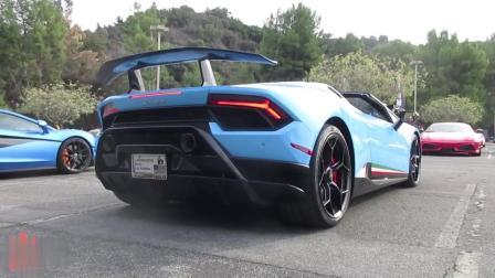 街拍兰博基尼hurcan超级跑车,你们喜欢吗?