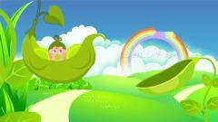 ae片头 pr模板 动态视频 c176唯美卡通蓝天白云彩虹