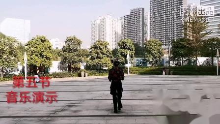 鸿之舞A4《我爱你中国》第五节音乐演示,王雄老