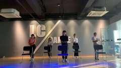 椅子秀 合肥立晨舞蹈 爵士舞 钢管舞 年会艺考排