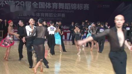 2019第29届全国体育舞蹈锦标赛*组L第二轮恰恰3