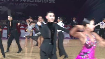 2019第29届全国体育舞蹈锦标赛*组L第二轮桑巴1