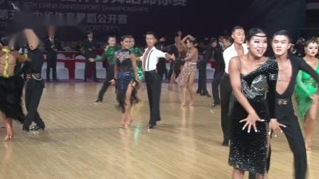 2019第29届全国体育舞蹈锦标赛*组L第二轮桑巴3