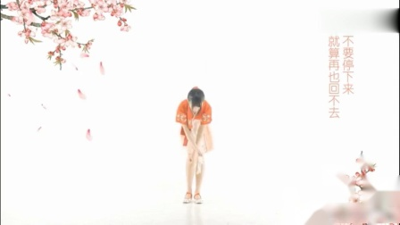 美女跳《桃源恋歌》,全程看腿,一对美腿又白又长又直,跳的太美