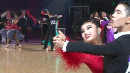 2019第29届全国体育舞蹈锦标赛21岁以下新星组S半
