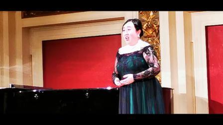 2019维也纳华人爱乐合唱团专场音乐会独唱曲(李
