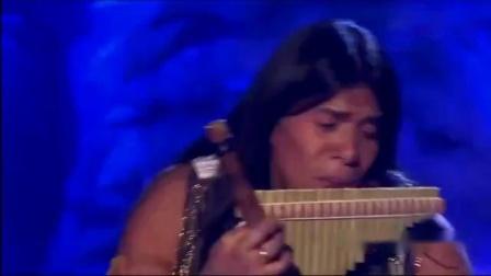 现场版排箫《山鹰之歌》,国外牛人的吹奏穿透