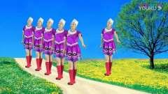 气质美女广场舞《弥渡山歌》甜美的民族舞曲,